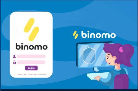 كيفية فتح حساب وتسجيل الدخول إلى Binomo